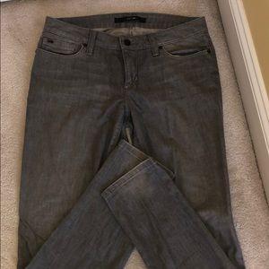 Joes Jeans- light gray-ankle length-28